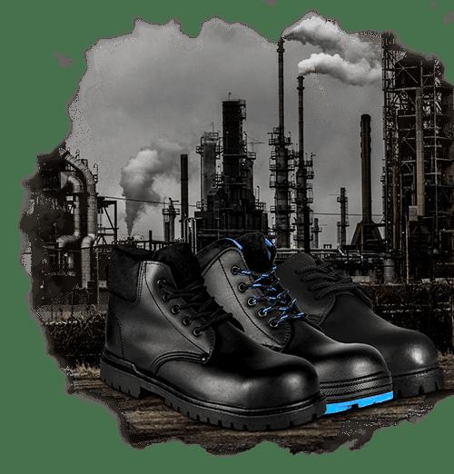 Todos tipos de botas para la industria